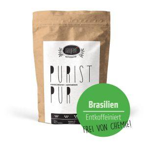 Purist Entkoffeiniert Brasilien Café Creme